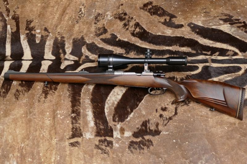 Mauser Mod. 98 / Büffelhorn Abzugsbügel Repetierstutzen